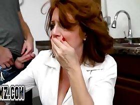 Andi James - Horny Son takes stepmom