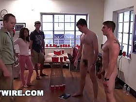 GAYWIRE - College Frat Pledges Get Hazed and Humiliated on Campus