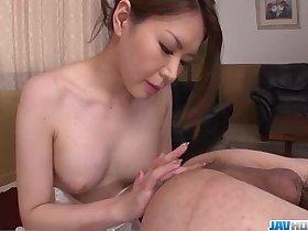 China Mimura provides steamy POV blwojob