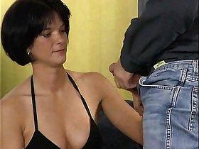 German brunette fuck with photographer
