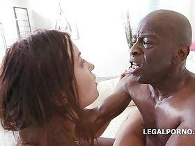 Roxy Dee goes interracial for the 100% Anal Fuck of her life with Big Black Cock