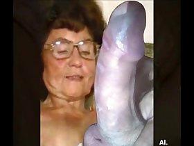 Delicious granny from EpikGranny.com masturbating