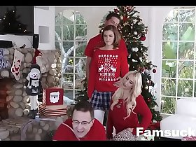 Step-Sis fucked me during family cristmas picture FamSuck.com