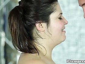 Wrestling plumper cocksucking in closeup