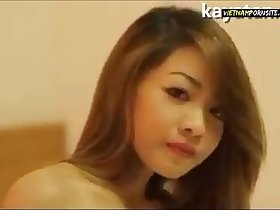 Vietnam Porn - Cute Vietnamese girl nude modeling with perfect body