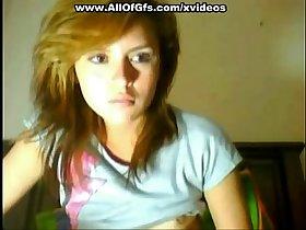 18 year old teen masturbates for web cam