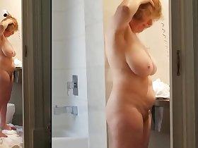 Sexy grandma has a killer body