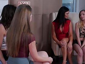 Jealous ex-student and their hot teacher - Jasmine Jae, Ashley Adams & Lena Paul