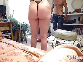 I fucked my big assed Milf painting model!!!