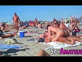 Voyeur swinger beach group sex on SpyAmateur.com