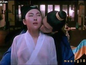 """Top 10 pha """"thả rông ngá»±c"""" trong phim Trung Quốc"""